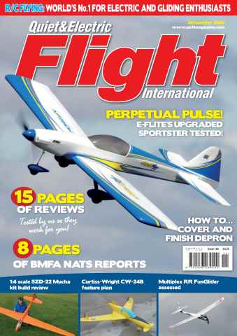 Quiet & Electric Flight Inter issue November 2015