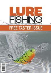 Fishing Reads issue  *FREE TASTER* LURE FISHING: TECHNIQUES FOR COARSE PREDATORS