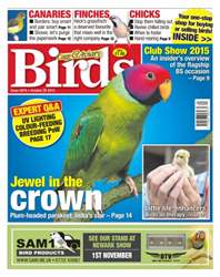 Cage & Aviary Birds issue No. 5878 Jewel in the crown