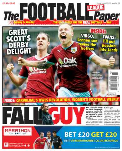 The Football League Paper issue 25th October 2015