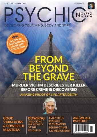 Psychic News issue November 2015