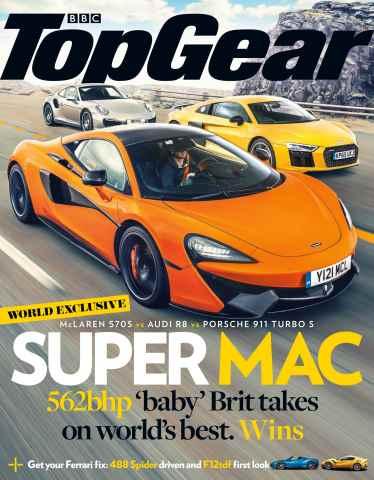 Top Gear issue December  2015
