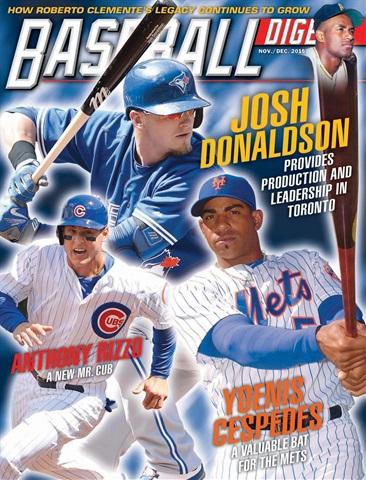 Baseball Digest issue Nov/Dec 2015