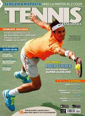 Il Tennis Italiano issue Il Tennis Italiano 11 2015