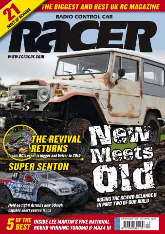 Radio Control Car Racer issue Dec 15