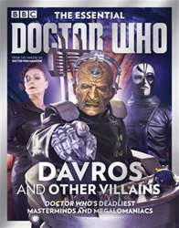 The Essential Doctor Who: Davros and Other Villains issue The Essential Doctor Who: Davros and Other Villains