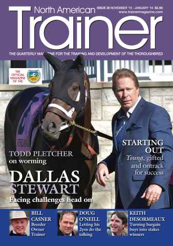 North American Trainer Magazine - horse racing issue November 2015-January 2016 – Issue 38