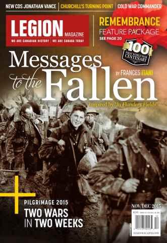 Legion issue November/December 15