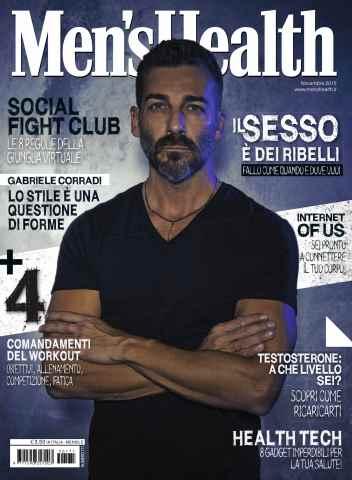 Men's Health Italia issue Men's Health 11 2015