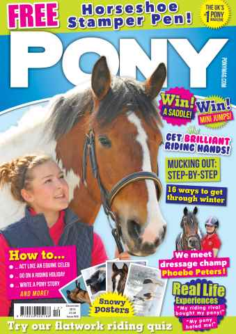 Pony Magazine issue PONY Magazine – December 2015