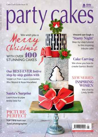 Cake Craft Guides issue Party Cakes 25 - Party Cakes