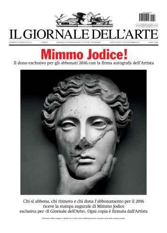 Il Giornale Dell'Arte issue Nov 2015