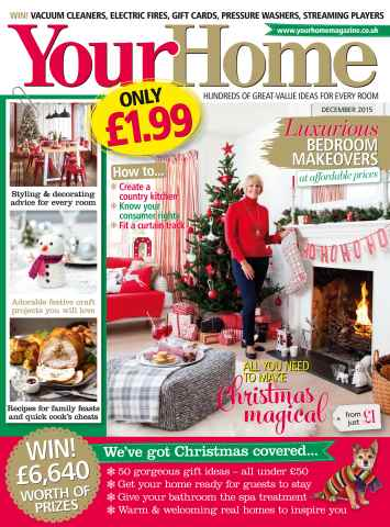 Your Home Magazine issue December 2015