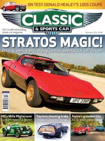 Classic & Sports Car issue Dec-15