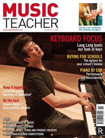 Music Teacher issue November 2015