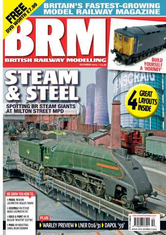 British Railway Modelling issue December 2015
