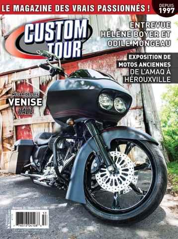 Custom Tour issue Hiver 2016