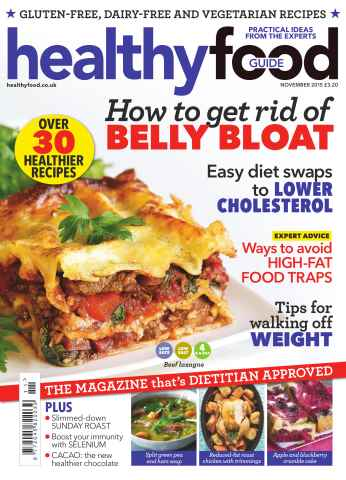Healthy Food Guide issue November 2015