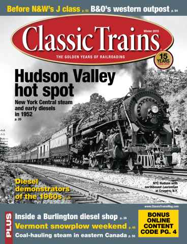 Classic Trains issue Winter 2015