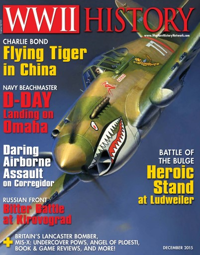 WW2 History Magazine issue December 2015