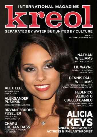 Kreol Magazine issue November 2015