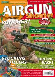 Airgun Shooter issue December 2015