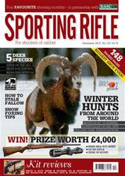 Sporting Rifle issue December 2015