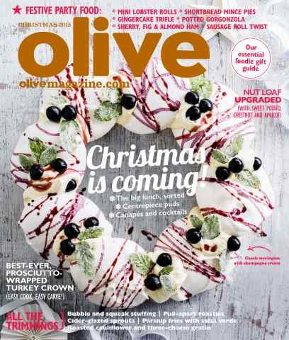Olive Magazine issue   Christmas issue 2015