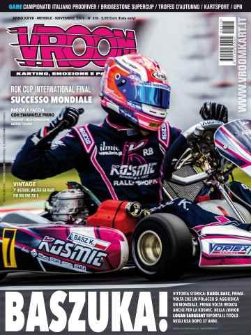 Vroom Italia issue n. 315 - Novembre 2015