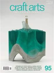Craft Arts International issue Issue 95