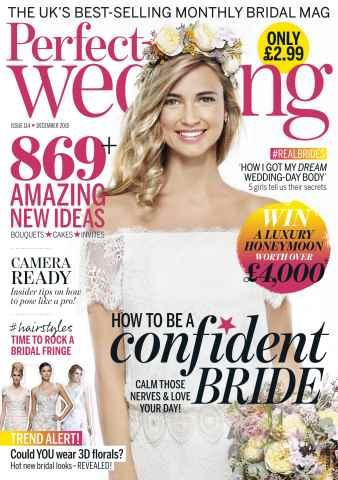 Perfect Wedding issue December 2015