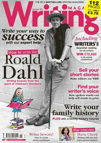 Writing Magazine issue November 2011