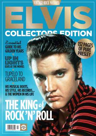 Vintage Rock issue Vintage Rock Elvis Collectors Edition