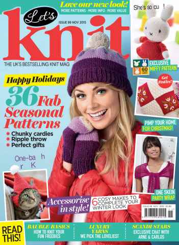 Let's Knit issue Nov-15