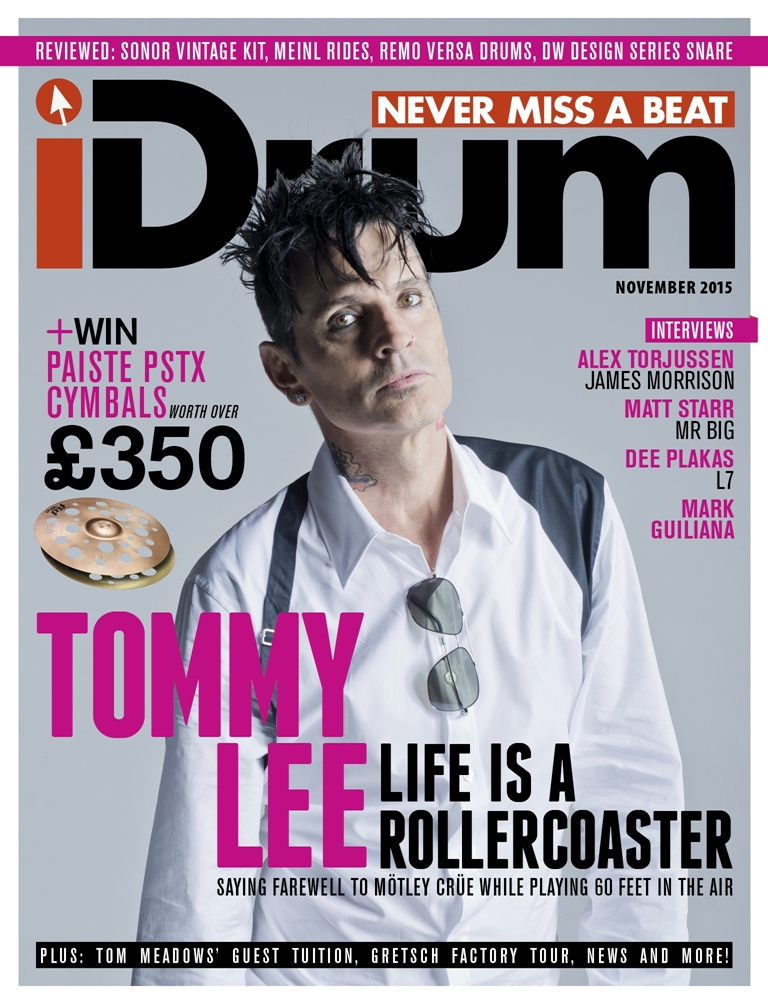 iDrum magazine: Never miss a beat issue November 2015