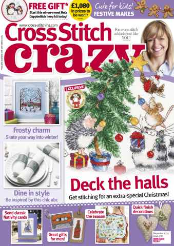 Cross Stitch Crazy issue December 2015