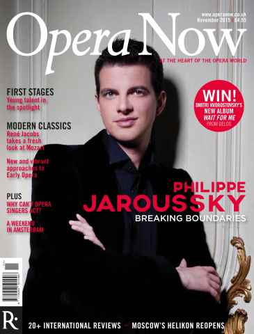 Opera Now issue November 2015