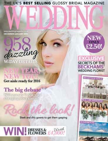 Wedding Magazine issue Dec15/Jan 16