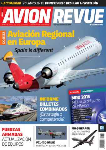 Avion Revue Internacional España issue Número 401