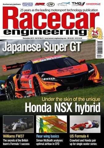 Racecar Engineering issue December 2015