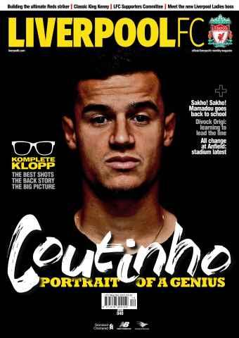 Liverpool FC Magazine issue Dec-15