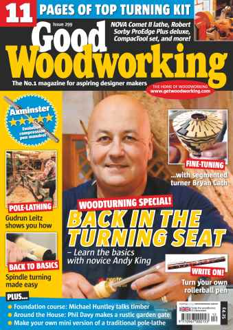 Good Woodworking issue Woodturning Special 2015