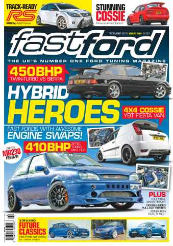 Fast Ford issue No. 364 Hybrid Heroes