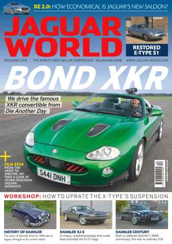 Jaguar World issue No. 165 Bond XKR