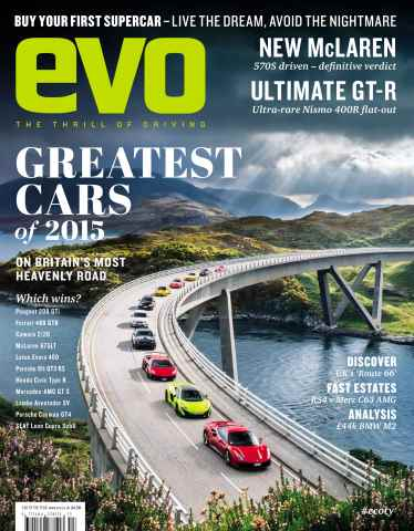 Evo issue Car of the Year