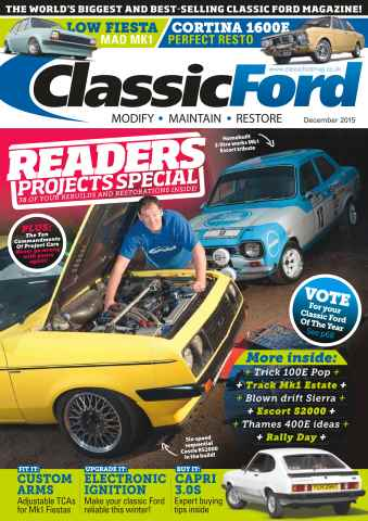 Classic Ford issue No. 232 Readers Projects Special
