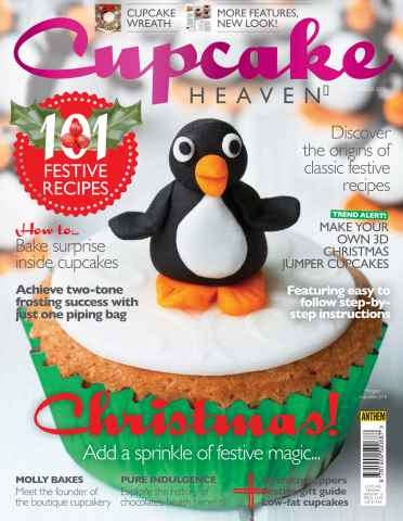 Food Heaven issue Cupcake Heaven Winter 2015