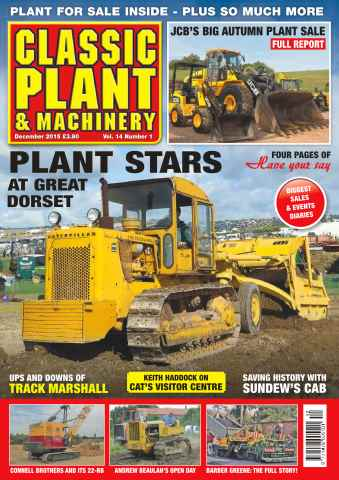 Classic Plant & Machinery issue Vol. 14 No. 1 Plant Stars