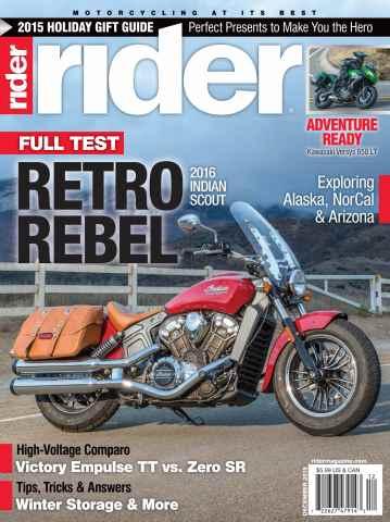 Rider Magazine issue December 2015