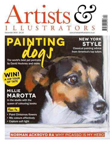 Artist & Illustrators issue December 2015